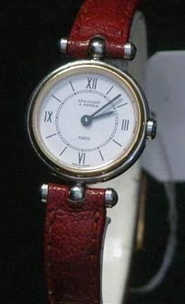VAN CLEEF & ARPEELS Vers 1990 Montre bracelet...