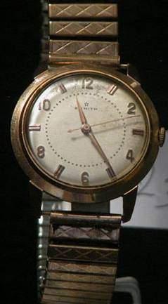 ZENITH Vers 1950 Belle montre bracelet en...
