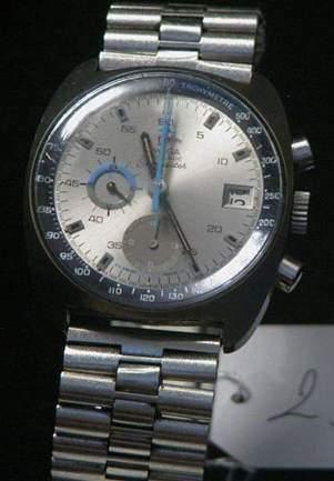 OMEGA Seamaster vers 1970 Beau chronographe...
