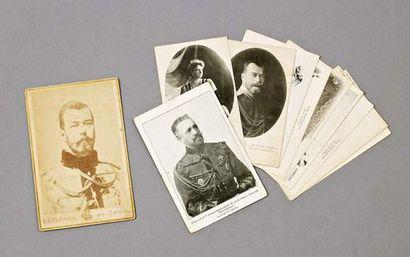 Photo de Nicolas II en hussard de la Garde,...