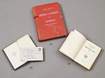 Journal d'un cosaque du Transbaïkal. A. Kvitka....
