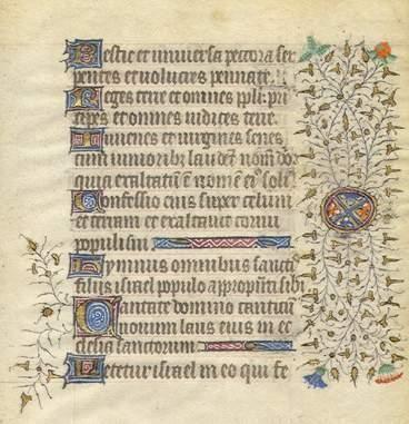 ANCIEN REGIME *ENLUMINURE Très beau feuillet,...