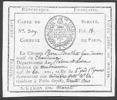REVOLUTION - EMPIRE COMMUNE DE PARIS Rares...