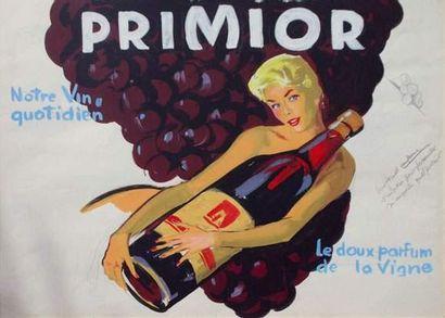 Pierre-Laurent BRENOT (1913-1998). « Publicité...