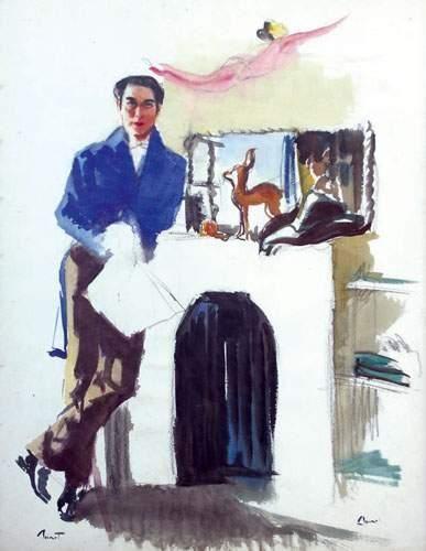 Pierre-Laurent BRENOT (1913-1998). « Jean-Louis...