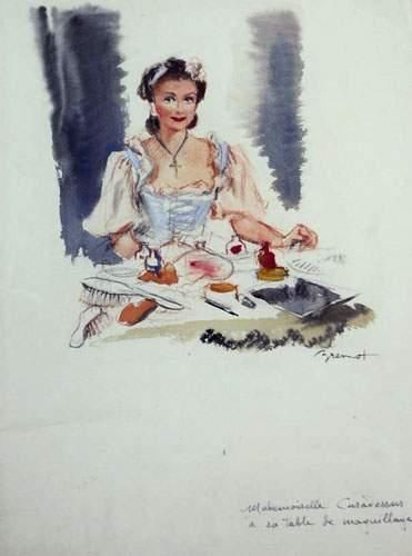 Pierre-Laurent BRENOT (1913-1998). « Mademoiselle...