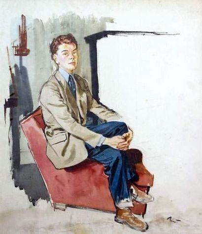 Pierre-Laurent BRENOT (1913-1998). « Comédien...