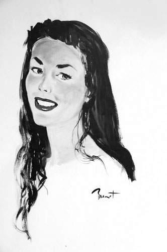 Pierre-Laurent BRENOT (1913-1998). « Jolie...