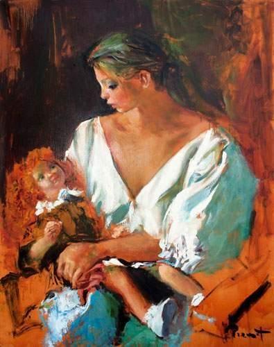 Pierre-Laurent BRENOT (1913-1998). « Agathe...
