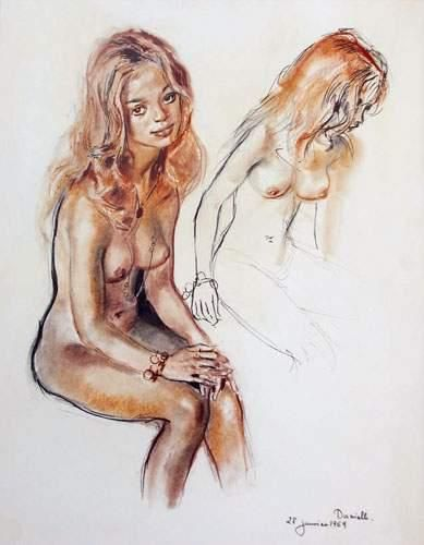 Pierre-Laurent BRENOT (1913-1998). « Danielle...