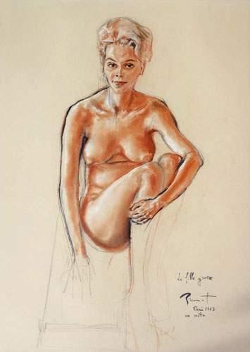 Pierre-Laurent BRENOT (1913-1998). « Un matin...