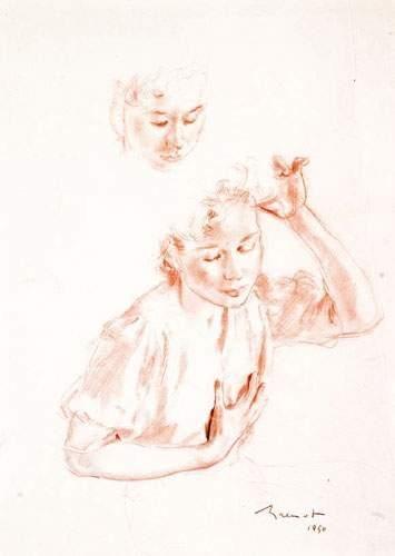 Pierre-Laurent BRENOT (1913-1998). « Portrait...