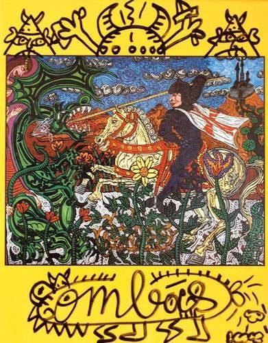 ROBERT COMBAS Saint Georges et le Dragon...