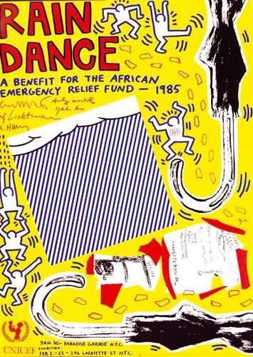 KEITH HARING Rain Dance A benefit for the...