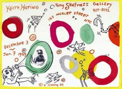 KEITH HARING Keith Haring 1988 Tony Shafrazi...