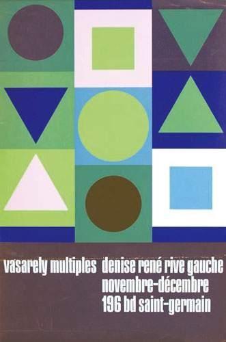 VASARELY Vasarely Multiples Denise rené....