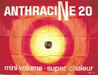 VILLEMOT BERNARD Anthracine 20 Mini volume,...