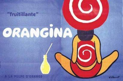 VILLEMOT BERNARD Orangina Fruitillante à...