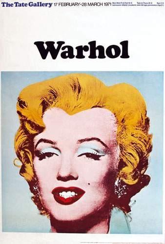 WARHOL ANDY Warhol The Tate Gallery 1971....