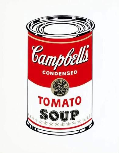 WARHOL ANDY Campbell's 1964 Tomato soup....