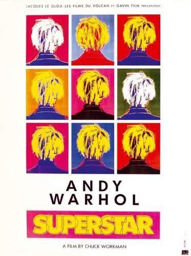 WARHOL ANDY Superstar A film by Chuck Workman....