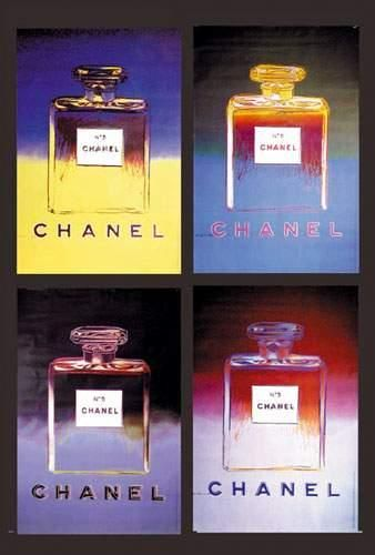 WARHOL ANDY Lot de 4 Chanel 1997 WARHOL ANDY...