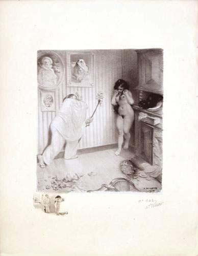 WILLETTE ADOLPHE Scène de Ménage 1906 WILLETTE...