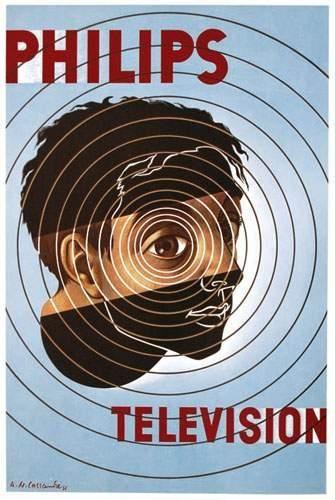 CASSANDRE Philips Télévision 1951 Probablement...