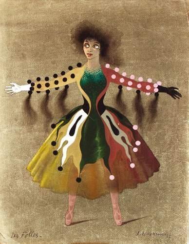 CASSANDRE Les Folles 1957