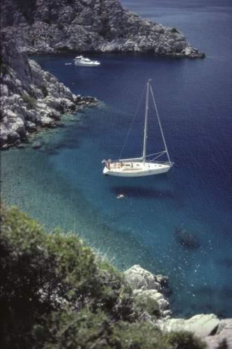 Mouillage en Grèce Format : 60 x 80 cm Photographe...