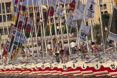 Tour de France à la voile Format : 60 x 80...