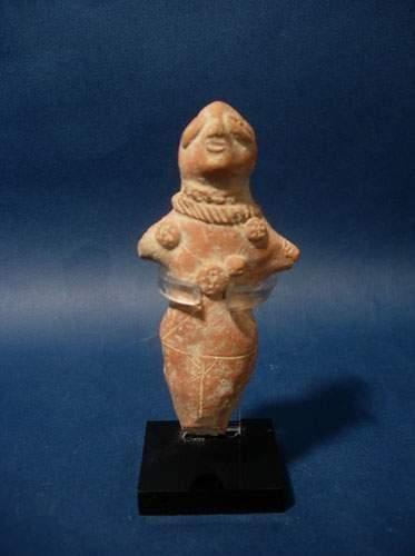 CHARSADDA (300 av. J.C.) Déesse-mère. En...