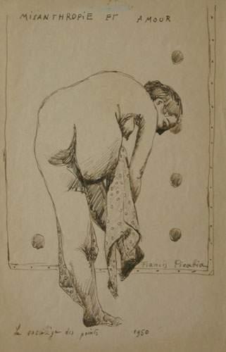 Francis PICABIA (1879-1953) « Le Sacrilège...