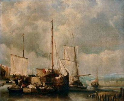 Auguste DELACROIX (Boulogne-sur-Mer 1809-1868)...