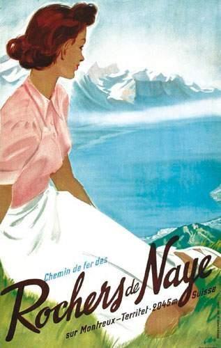 SUISSE / SWITZERLAND Rochers de Naye LIBIS...