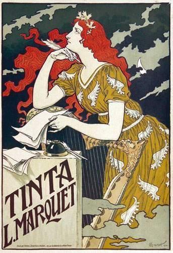 ESPAGNE / SPAIN Tinta Marquet 1892 GRASSET...