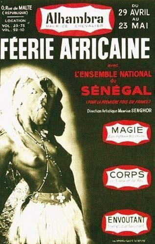 AFRIQUE / AFRICA Féerie Africaine Avec l'ensemble...