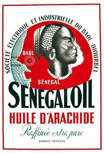 AFRIQUE / AFRICA Senegal Oil D'HEY R. Huile...