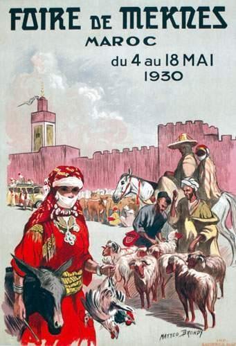 MAROC / MOROCCO Foire de Meknes BRONDY MATTEO...