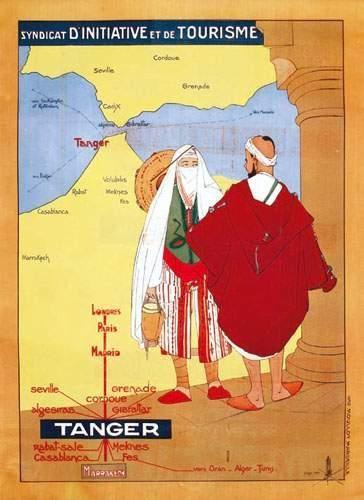MAROC / MOROCCO Tanger 1929 J. HOLE Syndicat...