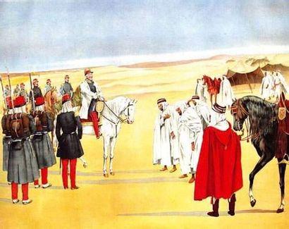 ALGERIE / ALGERIA Prise de la Smala d'Abd-El-Kader...