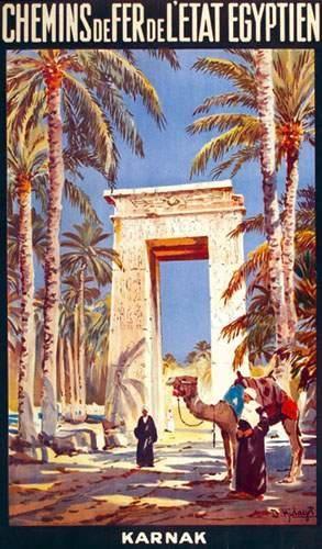 EGYPTE / EGYPT Karnak HIDAYET D. Chemins...