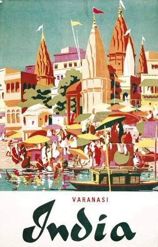 INDE / INDIA India Varanasi. Aff. N.E. B.E....
