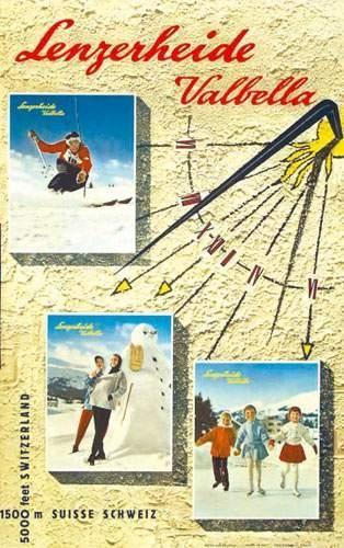 SUISSE / SWITZERLAND Lenzerheide Valbella...