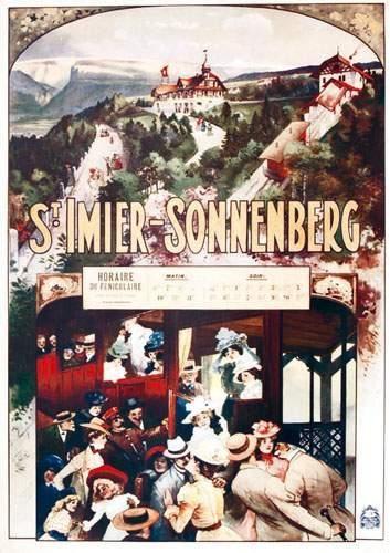 SUISSE / SWITZERLAND St Imier-Sonnenberg...