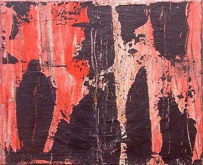 MEYER Yann Composition 2 Acrylique sur toile...