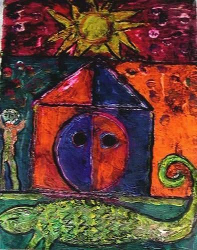 PHILIPPI Jean-Christophe La maison Acrylique...