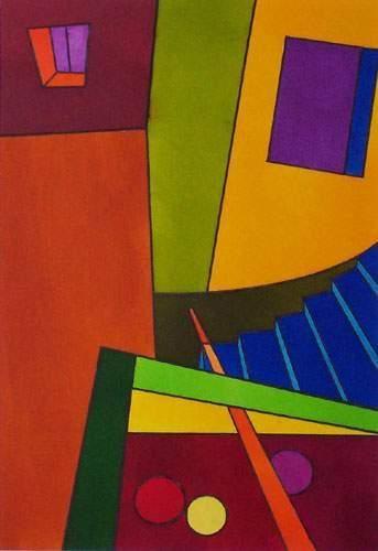 SIERRA Arturo Espace et couleur Encre sur...
