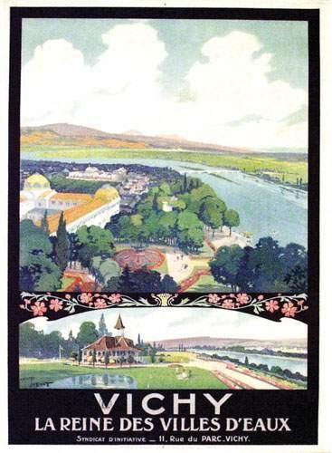 Vichy TOUSSAINT La Reine des villes d'eau....