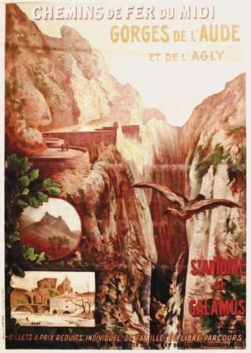 Gorges de l'Aude et de l'Agly DEMONBE E....